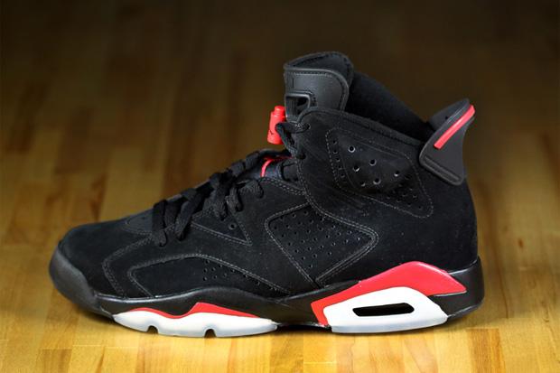 Air Jordan VI Black/Varsity Red