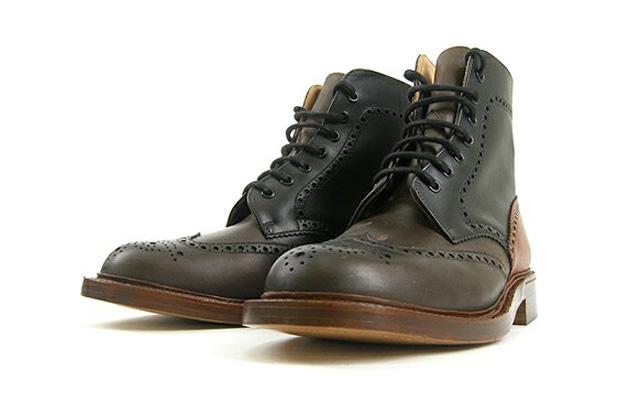 Alfred Sargent x Artyz Wingtip Brogue Boots