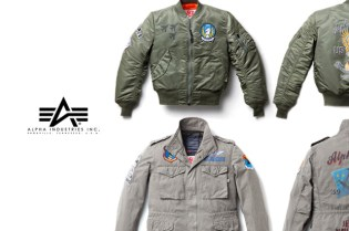 Alpha Industries 50th Anniversary Collection