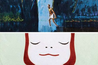 Artist Series Beach Towels 2009: Yoshitomo Nara and Peter Doig