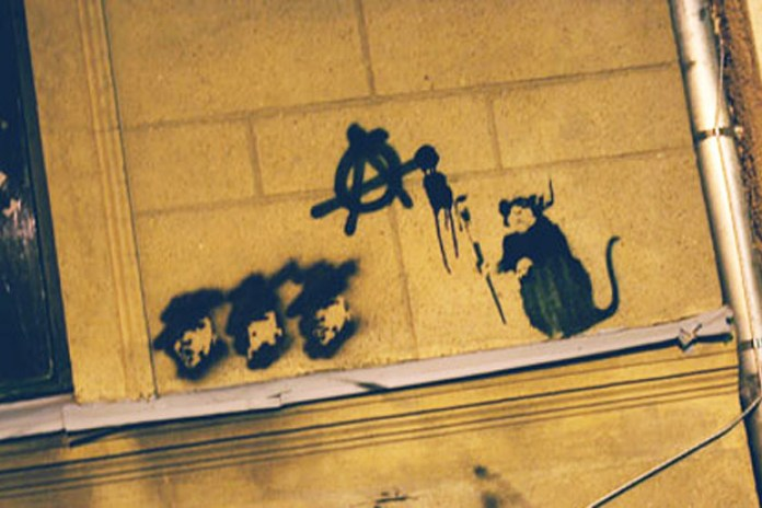 Banksy Anarchy Rat For Sale