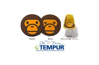 A Bathing Ape x Tempur Seat Cushion