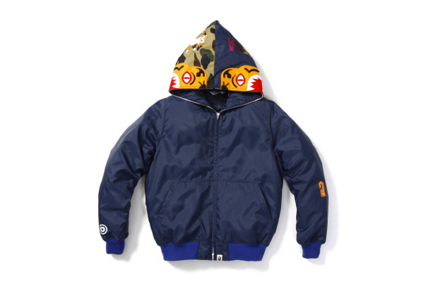A Bathing Ape Tiger Down Jacket