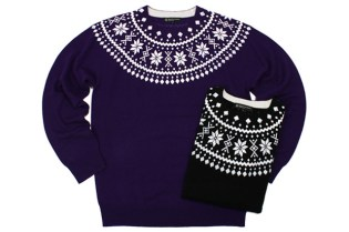 BEAUTY & YOUTH Nordic Knit Cashmere Sweater