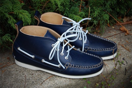 3sixteen x Quoddy Leather Deck Chukka