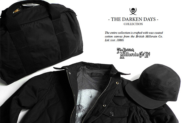 "British Millerain Co. x Maiden Noir 2009 Holiday ""Darken Days"" Collection"