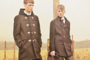 Burberry Black Label POPEYE Magazine Editorial
