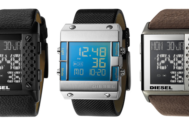 Diesel 2009 Winter Perforation Watches