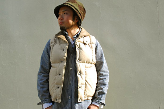Engineered Garments Shawl Collar Down Vest