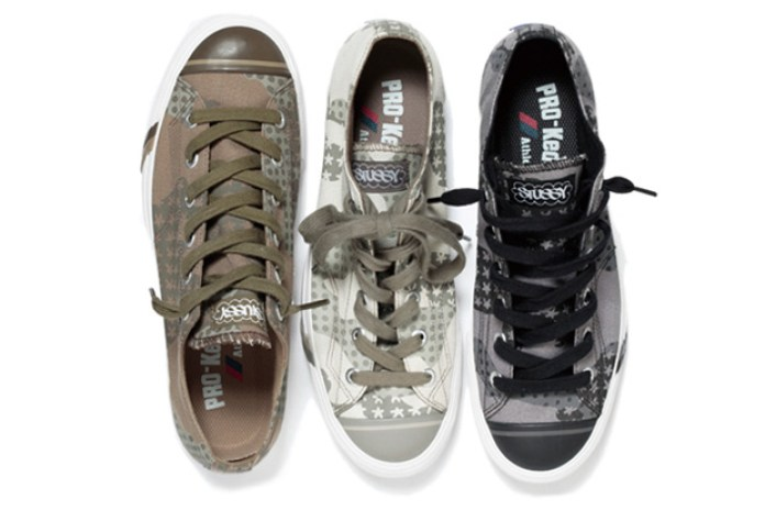 Eric Haze x Stussy x PRO-Keds Royal Plus