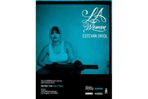 "Estevan Oriol ""LA Woman"" Exhibition and Book Signing"