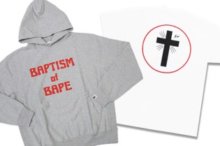 "fragment design x A Bathing Ape ""Baptism of Bape"" Collection"