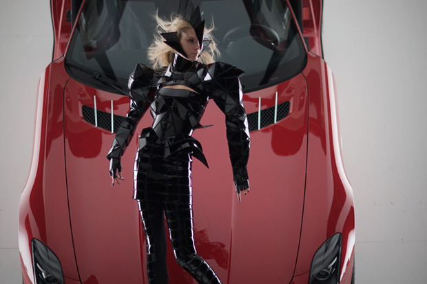 Gareth Pugh and Nick Knight for Mercedes-Benz Ad Campaign