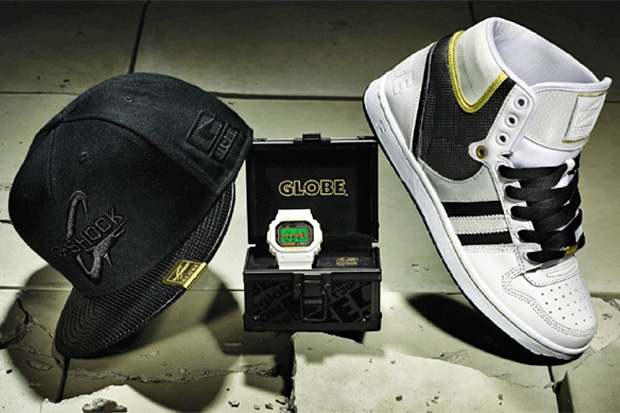 Globe x G-Shock Limited Edition Pack Preview