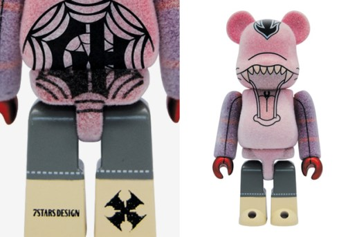 GLORY HILL x 7Stars Design x MEDICOM TOY 100% BEARBRICK