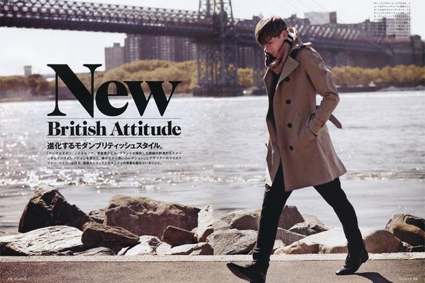 "GQ Japan ""New British Attitude"" Editorial - Burberry Prorsum 2010 Spring/Summer"