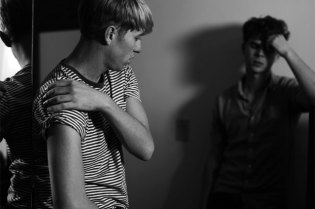 Hedi Slimane Rock Diaries featuring The Drums