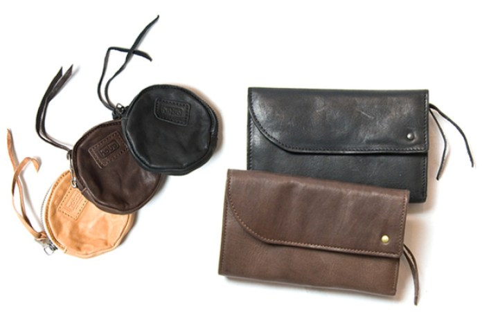 hobo Oiled Leather Wallet & Case