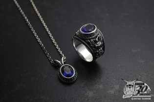 JAM HOME MADE & ready made x Gundam 30th Anniversary Ring and Necklace Set