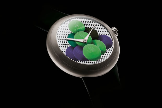 "Jeff Koons x Ikepod ""Cannonballs"" Horizon HHTJK Watches"