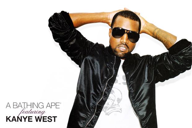 Kanye West for A Bathing Ape Spring 2010 Lookbook