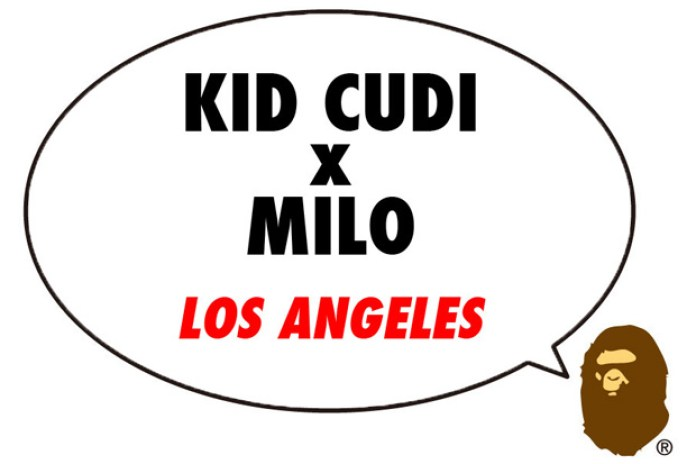 Kid Cudi x A Bathing Ape Part 2 Announcement