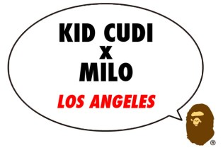 Kid Cudi x A Bathing Ape Part 2 Announcement
