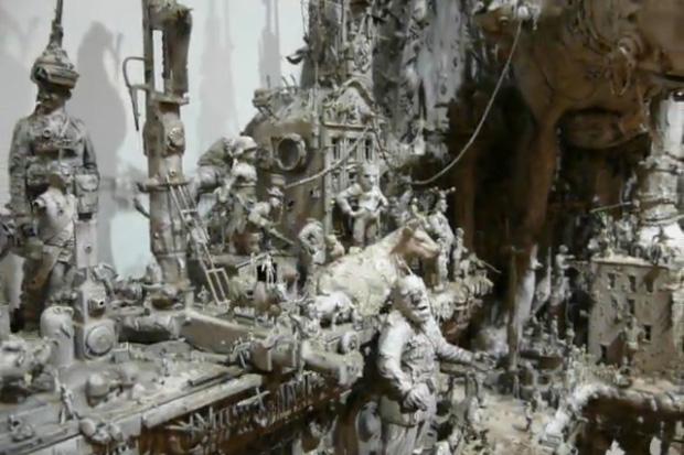 """Kris Kuksi """"The Plague Parade: Opus 2"""" Video"""