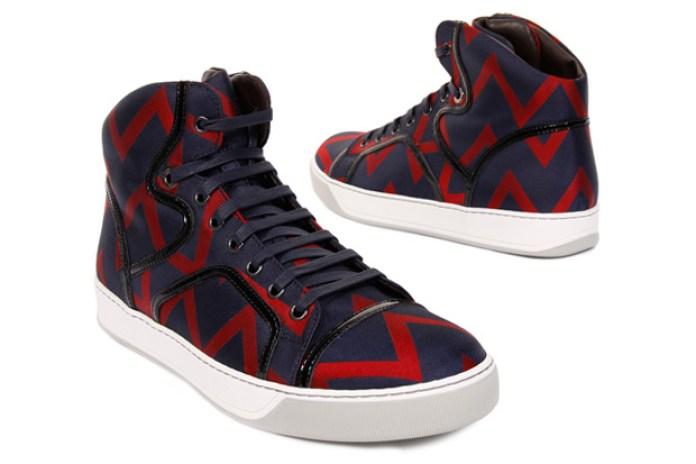 Lanvin 2009 Fall/Winter Zig-Zag Sneakers