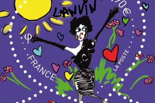 Lanvin x La Poste 120th Anniversary Stamps