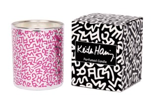 "Ligne Blanche ""Keith Haring"" Porcelain Candle"