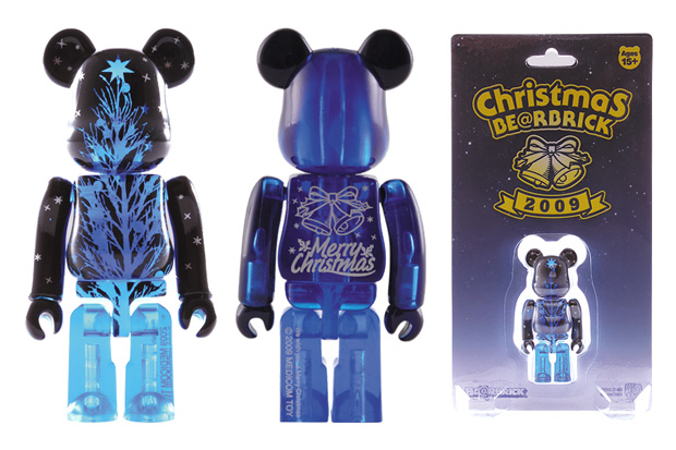 "MEDICOM TOY BEARBRICK 100% ""Merry Christmas"""