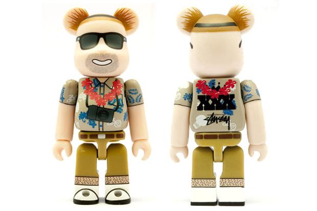 Medicom Toy x Stussy 30th Anniversary Bearbrick