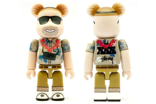 Medicom Toy x Stussy 30th Anniversary Bearbrick