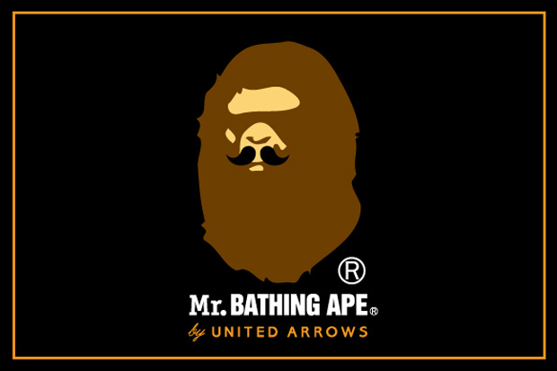 United Arrows x Bape: Mr. BATHING APE Preview