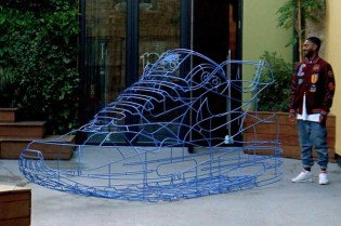 Nike Air Max Sculpture by Benedict Radcliffe