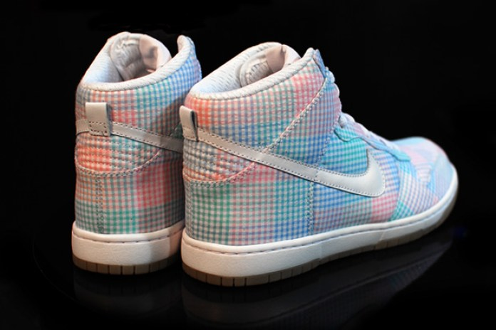 Nike Sportswear Dunk Hi Gingham Preview