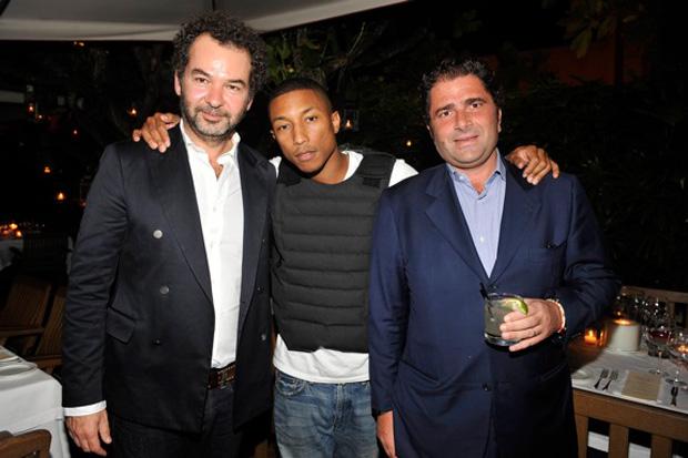 Pharrell Williams x Moncler Dinner at Art Basel