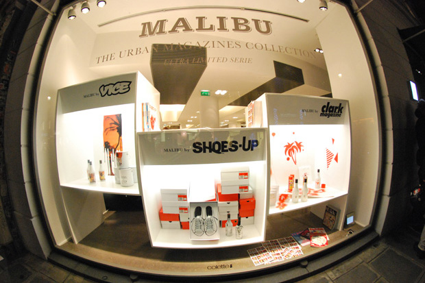 Urban Magazines Collection: Shoes-Up x Malibu at colette