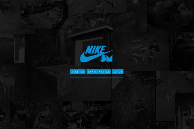 Skate Mental x Nike SB Micro Site Launch