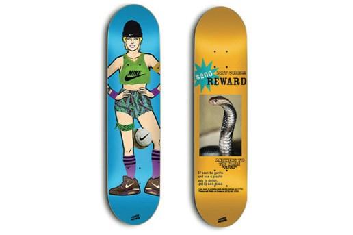 Skate Mental x Nike SB Skate Decks