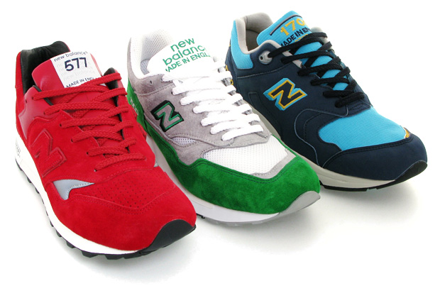 Sneakersnstuff x New Balance 10th Anniversary RGB Pack