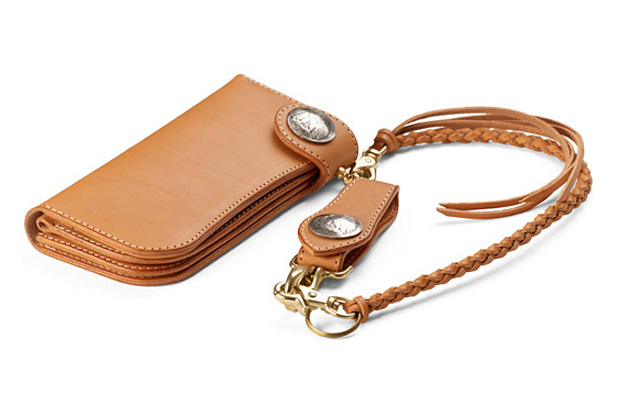 Studio D'Artisan Silver Buckle Chain Wallet