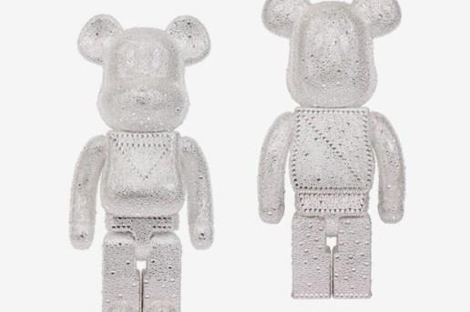 Swarovski x Medicom Toy 1000% & 400% Beabrick Set