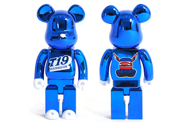 T19 x MEDICOM TOY BEARBRICK 400%
