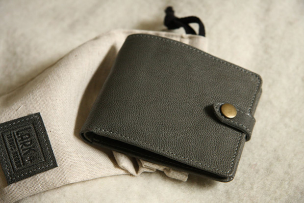 Tannis Hegan x Lark Bi-Fold Snap Wallet