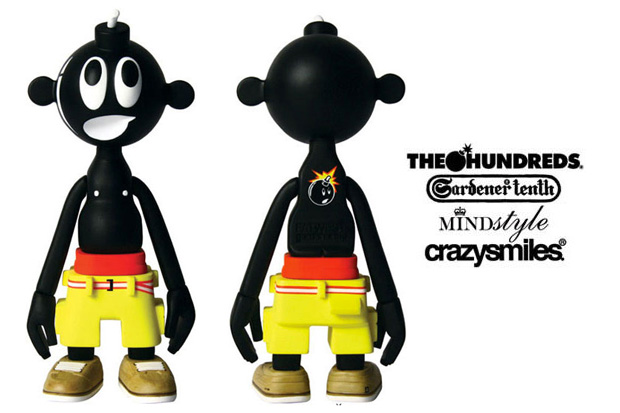 The Hundreds x Michael Lau x MINDstyle Toy