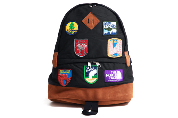 """The North Face Purple Label 65/35 Medium Day Pack """"Patches"""""""