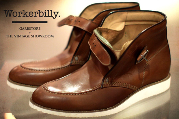 The Vintage Showroom x Garbstore Workerbilly Boot