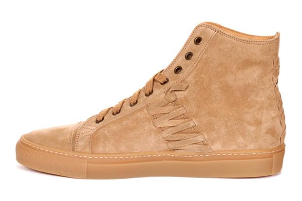 Trussardi 1911 Calfskin Velvet Sneakers
